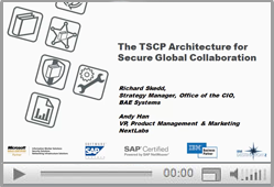 TSCP and Nextlabs Webinar - The TSCP Architecture of Secure Global Collaboration